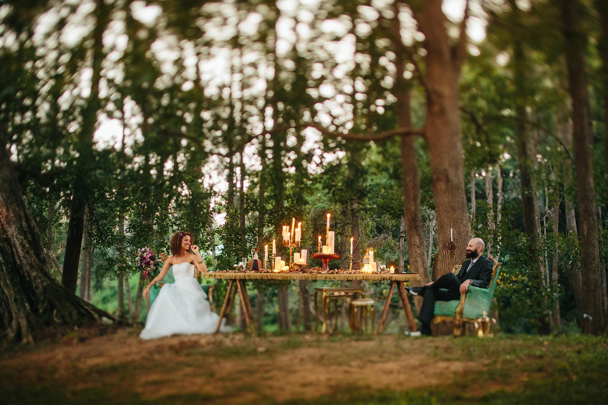 Vintage Forest Wedding...